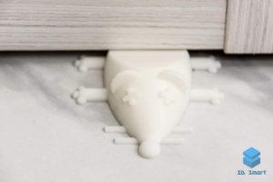 Печать на FDM принтере стоппера для двери Мышка