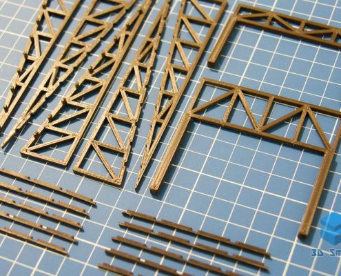 3D-печать деталей для макетов