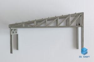 Изготовление деталей фермы для макета 3D-печатью