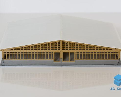 3D макет свинокомплекса