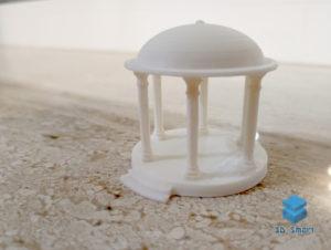3D-печать беседки для макета