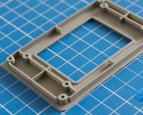Корпус LCD дисплея на 3D-принтере