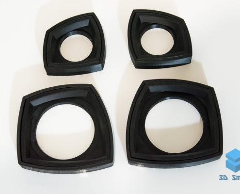 3D-печать подиумов для динамиков в автомобиль