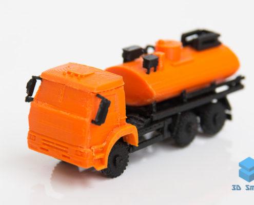 Миниатюрный макет автоцистерны 3D-печать