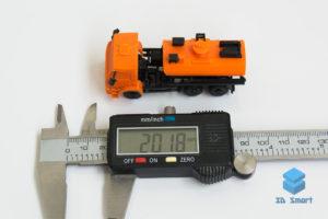 3D-печать микромакета автоцистерны