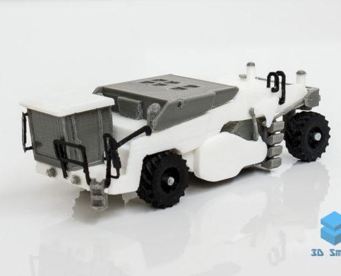 3D-печать макета ресайклера WR250