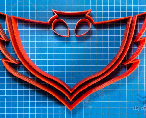 Крупногабаритная 3D-печать форм для кексов