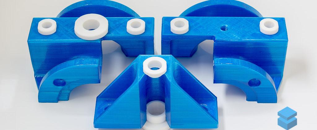Крупногабаритная 3D-печать макета запорной арматуры