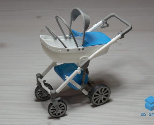 Макет детской коляски 3D-печать Воронеж