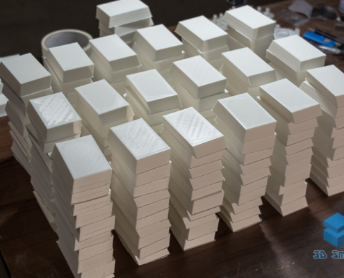 Мелкосерийная 3D-печать заглушек из ABS