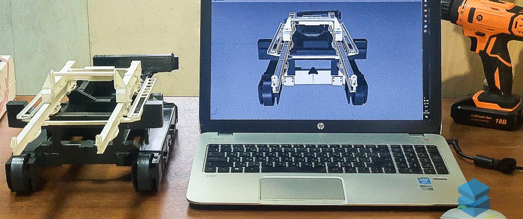 Проектирование макета спецтехники - 3D Smart Воронеж