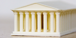 Детали макетов на 3D-принтере