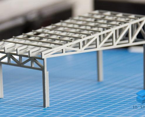 3D-печать деревянной фермы