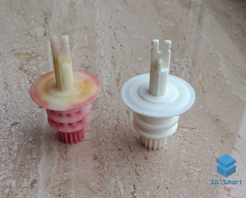 Изготовление ручки отопителя автомобиля на 3D-принтере