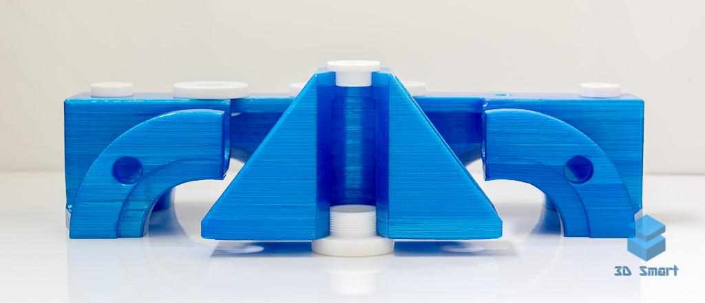 Крупногабаритная 3D-печать макета в Воронеже