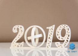 Новогодний сувенир 2019 год 3D-печать Воронеж
